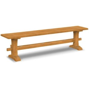 JOHN THOMAS FURNITURELive Edge Trestle Bench