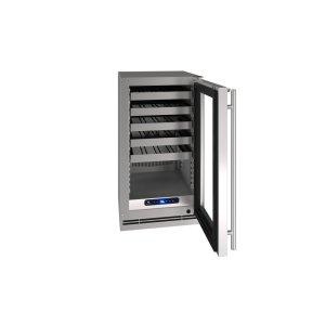"U-Line18"" Wine Refrigerator With Stainless Frame Finish (115 V/ 60 Hz Volts / 60 Hz Hz)"