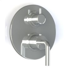 """7095ci - 1/2"""" Thermostatic Trim With Volume Control in Polished Chrome"""