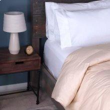 Posturepedic Down Alternative Color Comforter - Cream - Oversized Queen