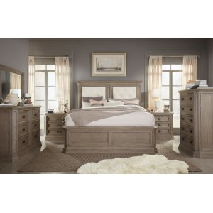 LEGACY CLASSIC FURNITUREManor House Upholstered Mansion Bed, Queen 5/0