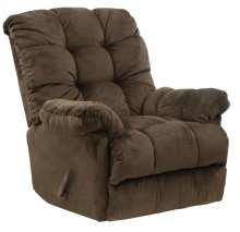 Umber 4737-2 Nettles Chaise Rocker Recliner with Deluxe Heat & Massage