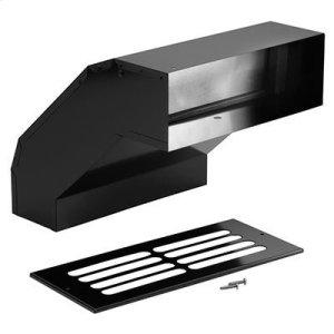 Long Eave Elbow Transition for Range Hoods and Bath Ventilation Fans -