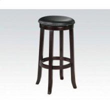"29""h Swivel Stool W/nail Head"