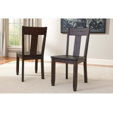 Trudell - Dark Brown Set Of 2 Dining Room Chairs