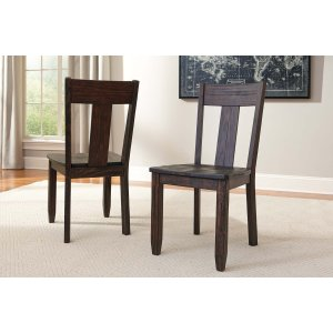 Ashley Furniture Trudell - Dark Brown Set Of 2 Dining Room Chairs
