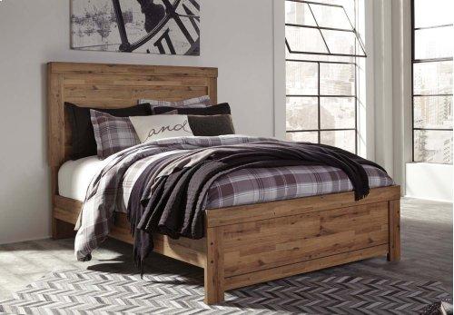Cinrey - Medium Brown 3 Piece Bed Set (Queen)