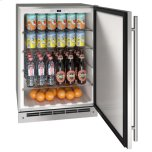 "U-Line 24"" Refrigerator With Stainless Solid Finish (115 V/60 Hz Volts /60 Hz Hz)"