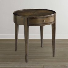 Palisades Round Lamp Table