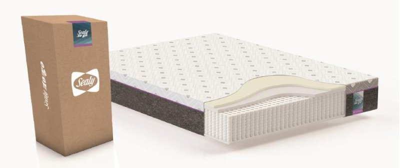F0300087queen In By Sealy New York Ny 10 5 Hybrid Mattress Queen