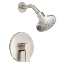 Brushed Nickel South Shore Shower Only Trim Kit, 2.0gpm