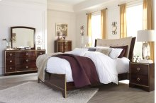 Lenmara - Reddish Brown 3 Piece Bedroom Set