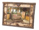 "Hickory Adirondack Mirror - 32""W x 36""H Product Image"