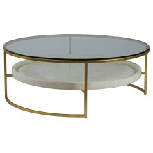 Cumulus Large Round Cocktail Table
