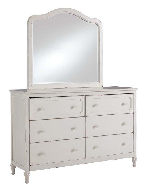 Faelene - Chipped White 2 Piece Bedroom Set