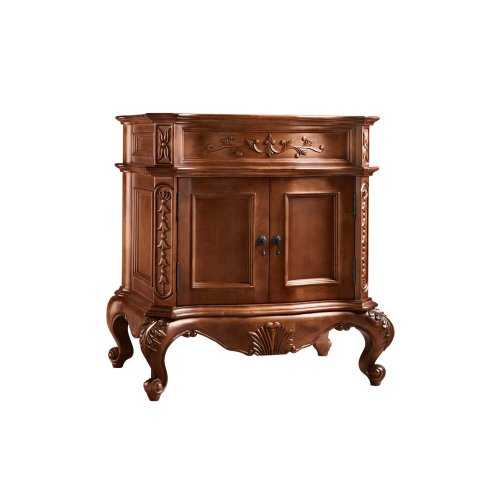 "Bordeaux 30"" Bathroom Vanity Cabinet Base in Colonial Cherry"