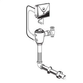 Selectronic Concealed Toilet Flush Valve for Floor-Mount Back Spud Bowls  1.28 GPF  American Standard - No Finish