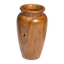 Meso Vase Natural & Antique Gold