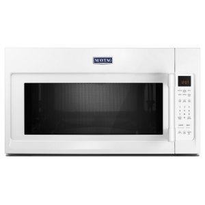 Over-The-Range Microwave With Interior Cooking Rack - 2.0 Cu. Ft. - WHITE