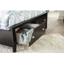 Q Footboard/Under Bed Drawers