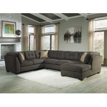 Delta City - Steel 3 Piece Sectional