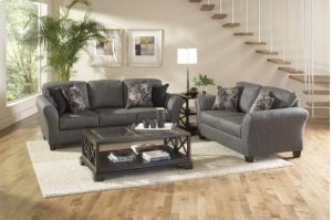 4600 Stoked Ash Accent Chair- Candella Pewter