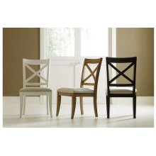 Everyday Dining by Rachael Ray X Back Side Chair - Nutmeg