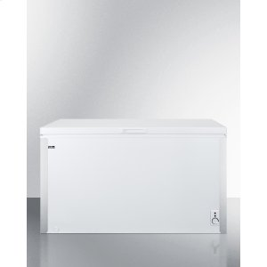 SummitCommercially Listed 14.1 CU.FT. Manual Defrost Chest Freezer