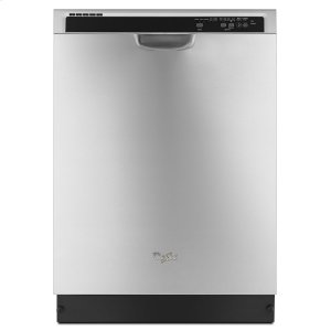 WHIRLPOOLENERGY STAR(R) certified dishwasher with Sensor cycle Monochromatic Stainless Steel
