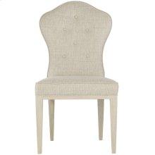East Hampton Side Chair in Cerused Linen (395)