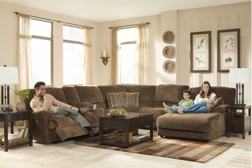 6-Piece Sectional with LAF Chaise