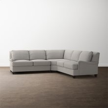 Designer Comfort Bridgewater Small L-Shaped Sectional