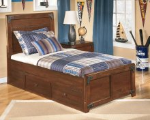 Delburne - Medium Brown 3 Piece Bed Set (Twin)
