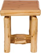 Cedar Open End Table Product Image