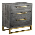 Vogue 3Dwr Nightstand Black Product Image