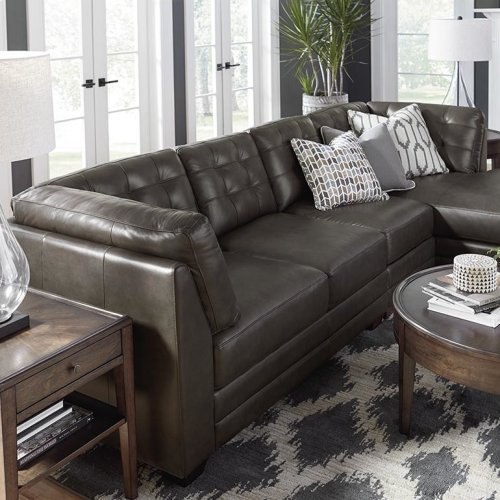 Chaise on Left/Affinity Espresso Affinity Right Chaise Sectional