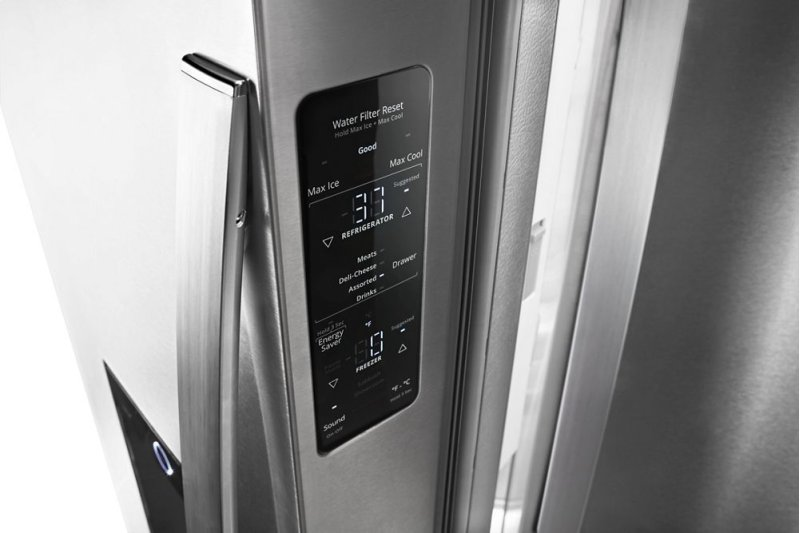 36-inch Wide Counter Depth French Door Refrigerator - 24 cu  ft