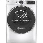 GE ®7.8 Cu. Ft. Capacity Smart Front Load Gas Dryer With Steam And Sanitize Cycle