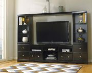 Shay - Black 4 Piece Entertainment Set Product Image
