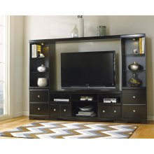Shay - Black 4 Piece Entertainment Set