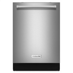 KitchenAid44 dBA Dishwasher with Dynamic Wash Arms Stainless Steel