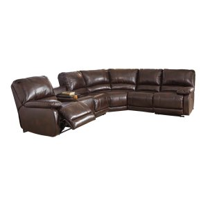 Ashley Furniture Hallettsville - Saddle 4 Piece Sectional