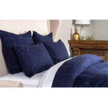 Heirloom Indigo Duvet 3Pc King Set