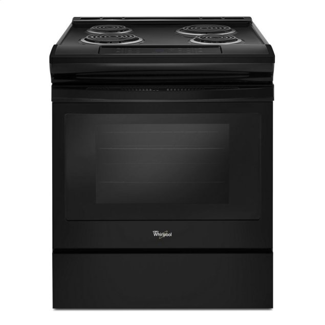 Whirlpool 4.8 cu. ft. Guided Electric Front Control Coil Range