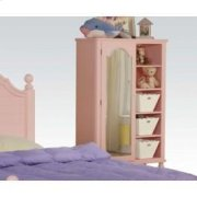 Pink W/wh Flower Door Chest Product Image