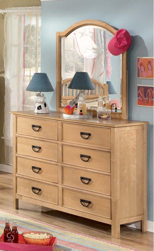 Lonnix - Silver Finish 2 Piece Bedroom Set