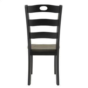 AshleySIGNATURE DESIGN BY ASHLEYFroshburg - Grayish Brown/Black Set Of 2 Dining Room Chairs