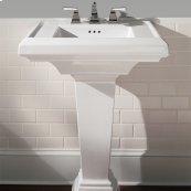 Town Square 27-inch Pedestal Sink - Linen