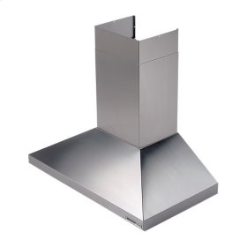 "35-7/16"" (90cm), Stainless Steel, Chimney Hood, Internal Blower, 450 CFM"