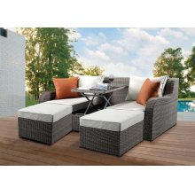 SALENA SEC.SOFA W/ COFFEE